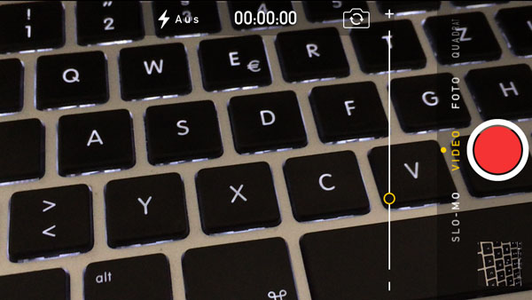 iPhone Kamera-App