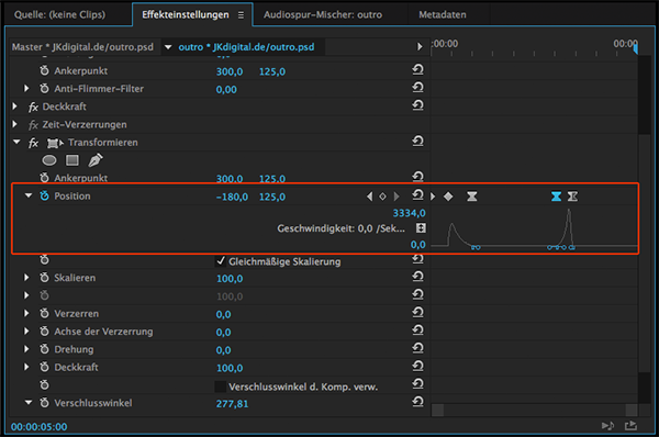 Screenshot Premiere Pro