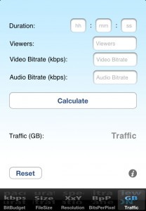 VidBitCalc Traffic Calculator