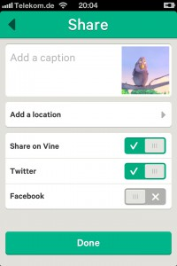 Screenshot Vine