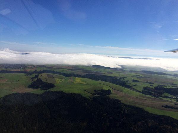 Luftbild Herbstflug