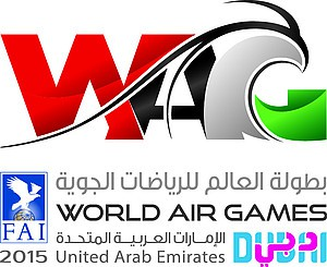 Logo World Air Games 2015