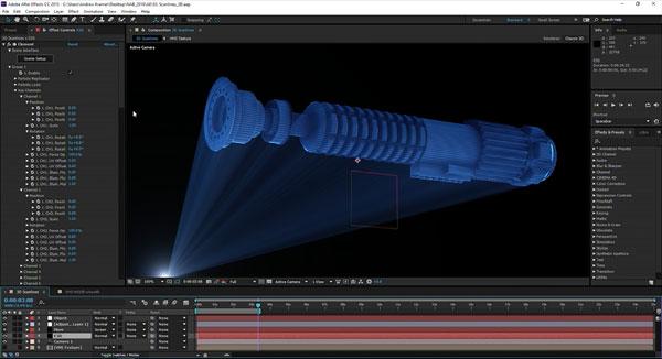 Screenshot Star Wars After Effects