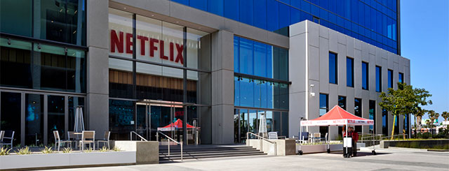 Netflix Hauptquartier in Los Angeles