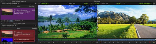 Avid MediaComposer Screenshot